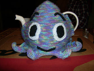 Whimsical Octopus Tea Cozy by sheherazahde