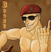 :Boone: by VideoGameGirl