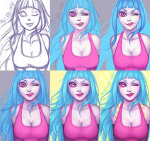 Me!Me!Me! process by CloveCake