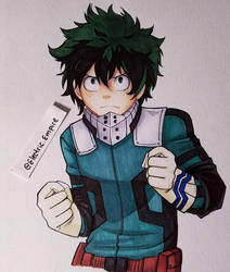 Deku by Electric-Empire