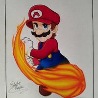[C] Mario by Electric-Empire