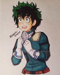 Deku-Kun by Electric-Empire