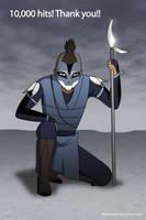 Water Tribe Warrior by Mangsney