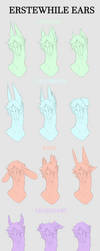 Erstewhile Ear Traits by Irabus