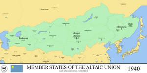 Altai Union, 1940 (Rumelian Universe) by xpnck