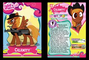 Calamity Trading Card by RinMitzuki