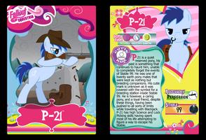 P-21 Trading Card by RinMitzuki
