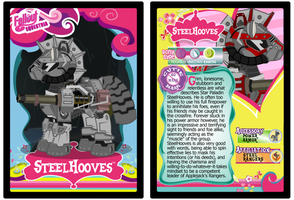 SteelHooves Trading Card by RinMitzuki