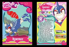 Rampage Trading Card by RinMitzuki