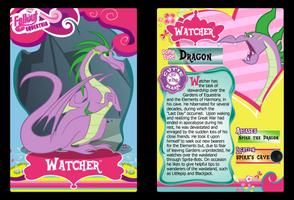 Watcher Trading Card by RinMitzuki