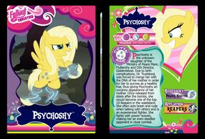 Psychoshy Trading Card by RinMitzuki