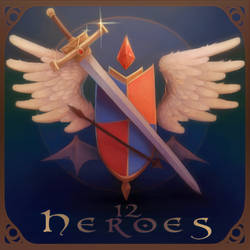 12 Heroes NOW LIVE on Neonmob ONLY!!!! by TenshiHime7