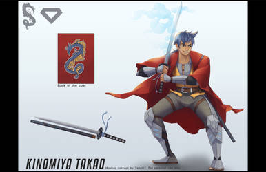 Beywatch - Kinomiya Takao by TenshiHime7