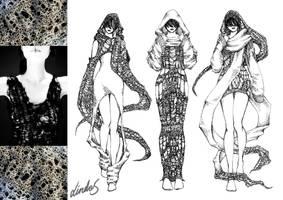 Knitting Designs - Contrast by MizuSasori