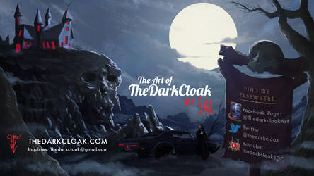 The Art of TheDarkCloak aka Sal by thedarkcloak