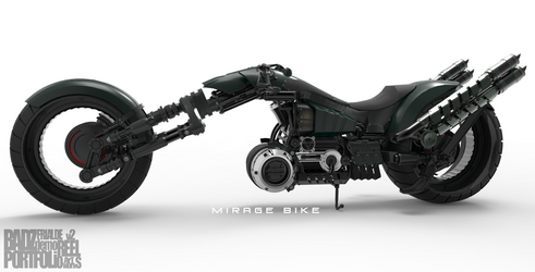 Mirage Bike 1 (WIP) by badzter09