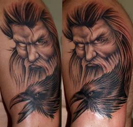 Odin - Metamorphose by DarkSunTattoo