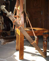 Viking sword scabbard 22 by DarkSunTattoo