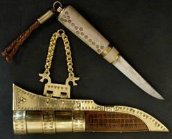 Gotlamd knife 1 by DarkSunTattoo