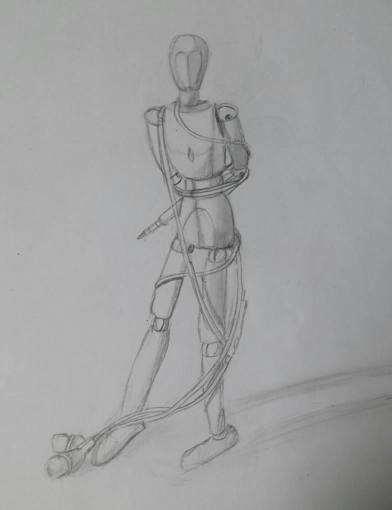 Mannequin Practice by TigerLove566