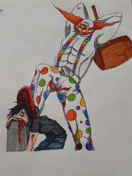 Clown Tombstone stomp by TigerLove566