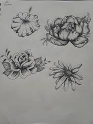 Flower Flash Sheet by TigerLove566