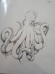 Octopus by TigerLove566