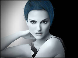 Natalie Portman by Vilone