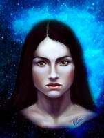 Space woman by Vilone