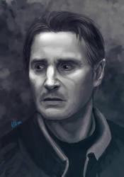 Liam Neeson by Vilone