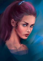 Lovely girl by Vilone