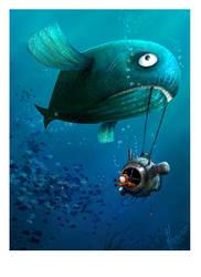 The Big Fish Ride by ArtofRoshan