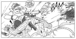 Betty Violence VS Wallstreet by caltron