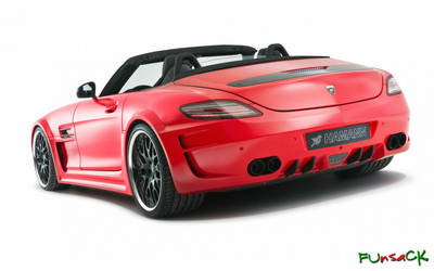 Hamann Hawk Mercedes SLS Roadster by maxmk04
