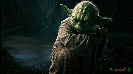 Jedi Yoda Wallpaper 16 March by maxmk04