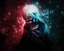Ken Kaneki by Legolatz3
