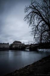 Prague Darkly: National Theatre by amrodel