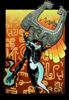 Midna the Mischievous Imp by zynwolf