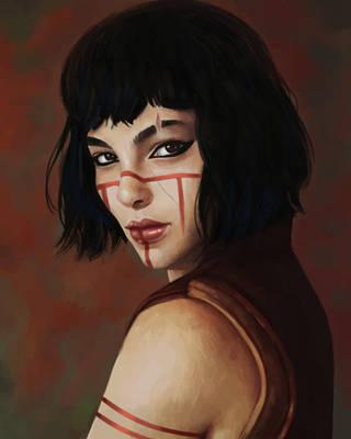 Dragon Girl by dchachu
