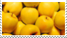 Yellow Apples Stamp by Onikos25