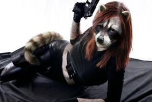 Raccoon Thief by pythos-cheetah