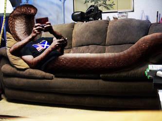 Now That's Multitasking by pythos-cheetah