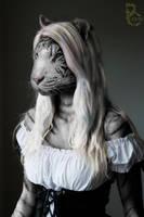 Snow White Tiger by pythos-cheetah