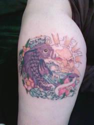 Koi Tattoo by Starry-Eyez