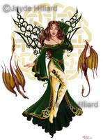 Celtic Faery of Spring by redrevvy
