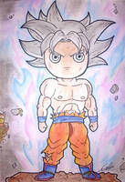 Goku Ultra Instinct - Dragon Ball Super by poparts8