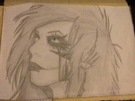 Andy Biersack drawing from 3 years ago by LostAtSeaOFF