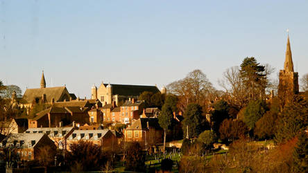 Uppingham panorama by muzzy500