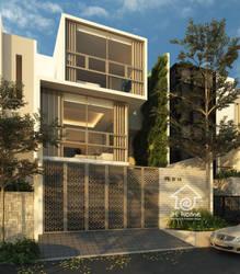 modern house kelapa nias jakarta by siek7171