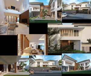 modern house cempaka putih by siek7171